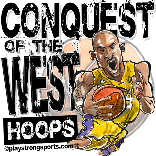 Kobe, Gasol, Bynum and Co. continue the Conquest of the West 2008-09…