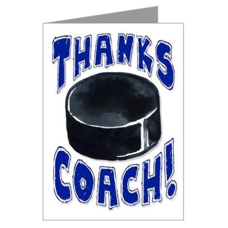 Hockey Thanks Coach